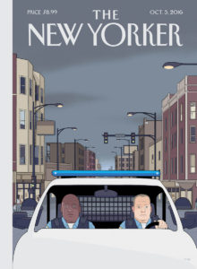 """The New Yorker - Edition du 3 octobre 2016: """"Shift"""" by Chris Ware"""