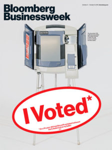 "Bloomberg Businessweek - Edition du 3 au 9 octobre 2016: ""I voted"""