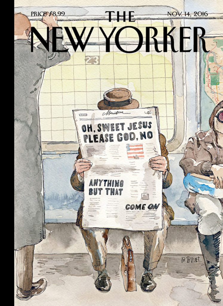 "The New Yorker - Edition du 14 novembre 2016: ""Anything but that"""