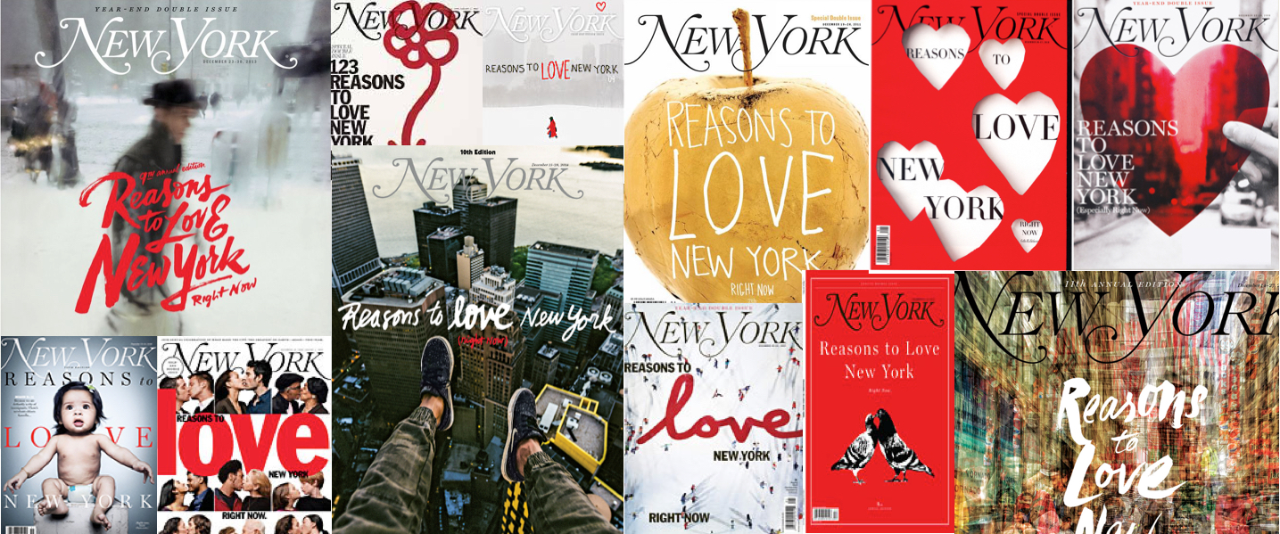 « Reasons to love New York – Right now »