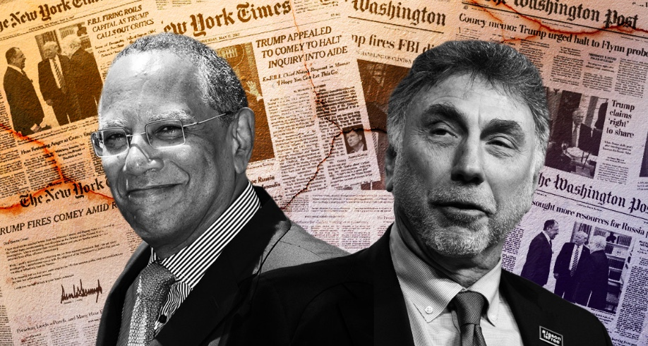 Le Washington Post et le New York Times: les meilleurs ennemis